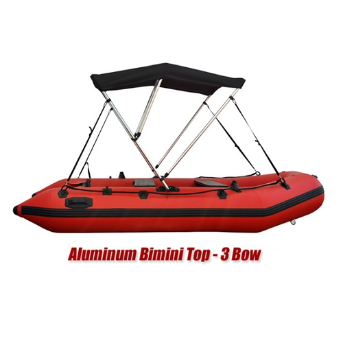 Rayda Bimini Top (3-Bow) with Support Poles & Boot